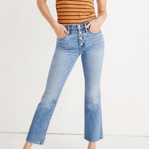 Madewell Jeans - Madewell Cali Demi-Boot Jeans in Dory Wash